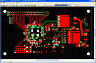 PCB Design with TINA